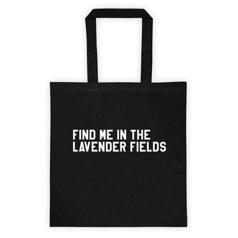 Lavender - Tote - The Sweet Oil Shop