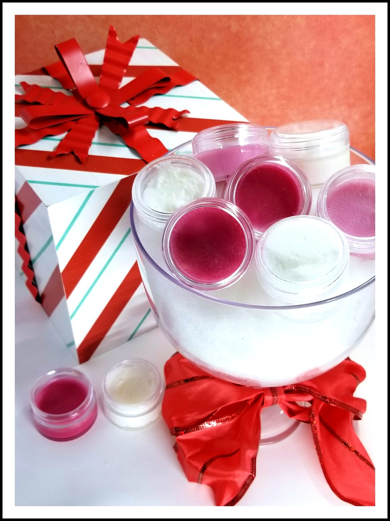 HOLIDAY LIP BALM & LIP SCRUB SET