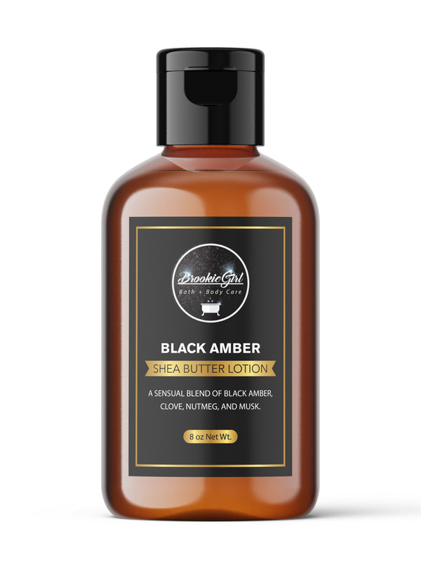BLACK AMBER Shea Butter Body  Lotion