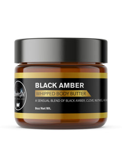 BLACK AMBER Whipped Body Butter
