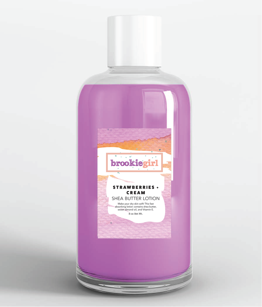 STRAWBERRIES+CREAM Shea Body Lotion