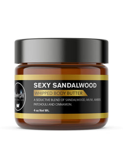 SANDLEWOOD WHIPPED BODY BUTTER