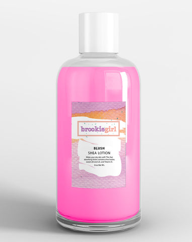 BLUSH Shea Body Lotion