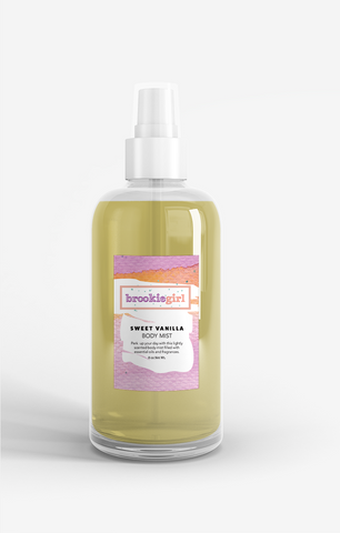 SWEET VANILLA Body Mist