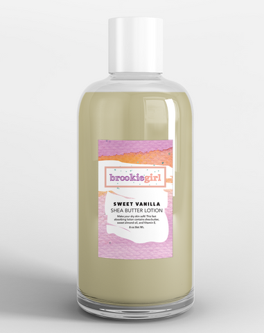 SWEET VANILLA Shea Body Lotion
