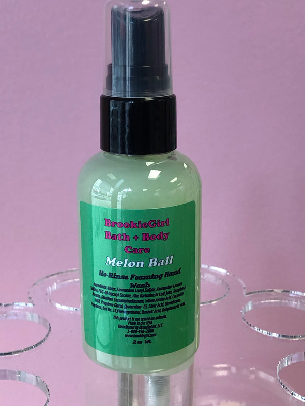 Melon Ball No Rinse Foaming Hand Wash
