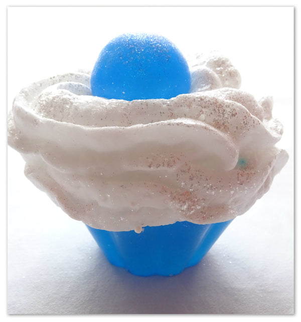 """We Care"" Soap Cupcakes"