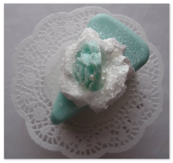 """ Piece of My Love"" Soap Cake"