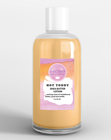 HOT TODDY SHEA BUTTER BODY LOTION