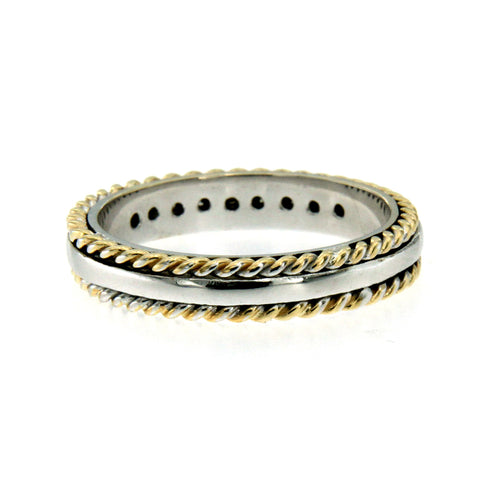 evangelatos treasures greek products bands ring grande fingers band gold double anthemion athena s