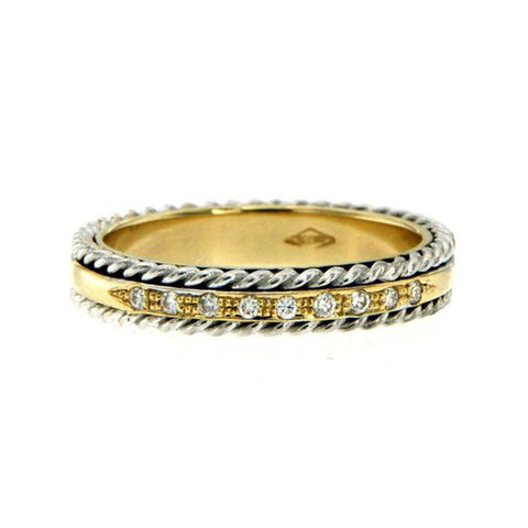 marquise gold round diamond diamonds ring products cut set combination of bands unique band