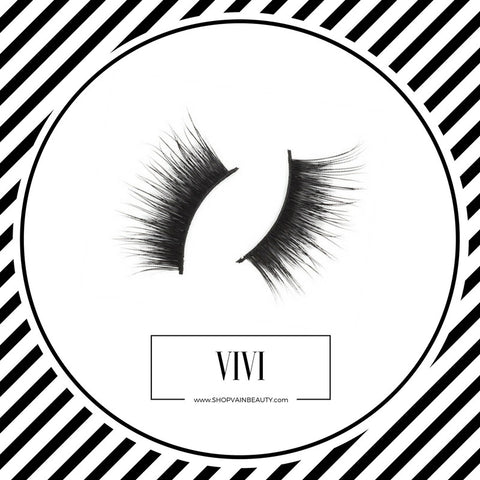 """VIVI"" Corner Lashes by VAIN Beauty. An awesome alternative to eyelash extensions, eyelash growth serums, or even the best mascara."