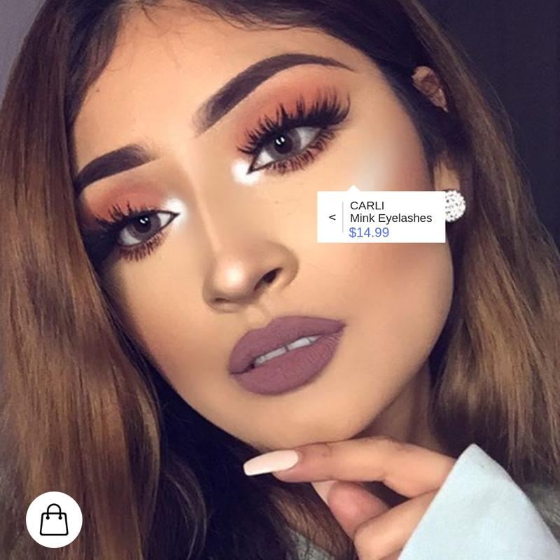 "Dallas Beauty Influencer and YouTuber Viridiana Rivas wearing ""CARLI"""