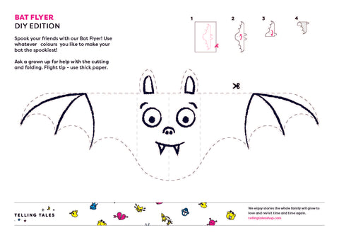 Halloween Activity - Bat Flyer - DIY Edition
