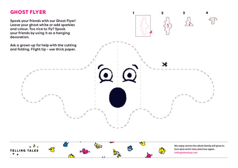 Halloween Activity - Ghost Flyer