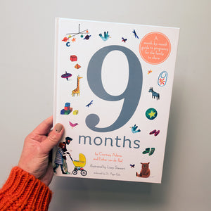 9 months: A month by month guide to pregnancy for the family to share.