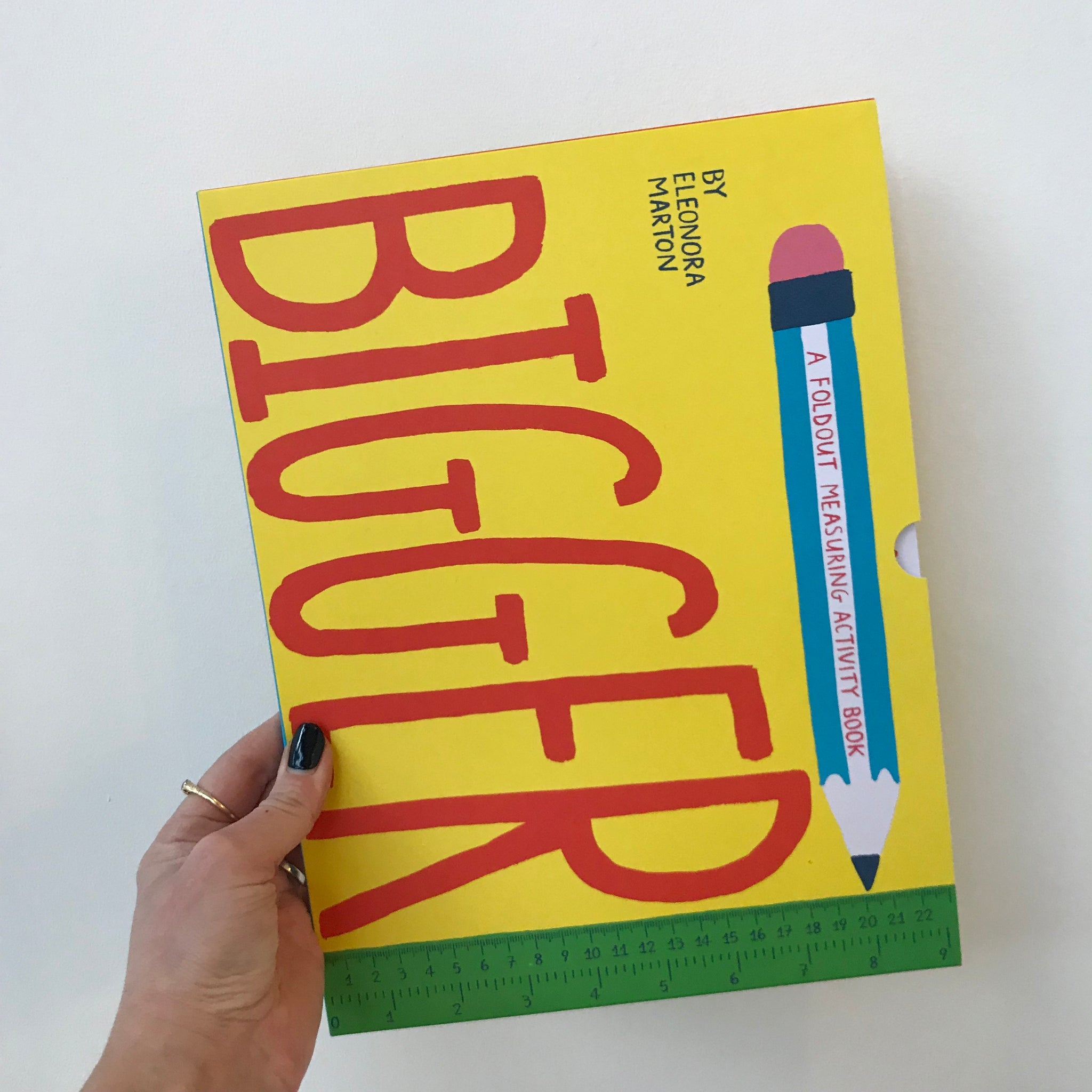 Bigger: A Foldout Measuring Activity Book