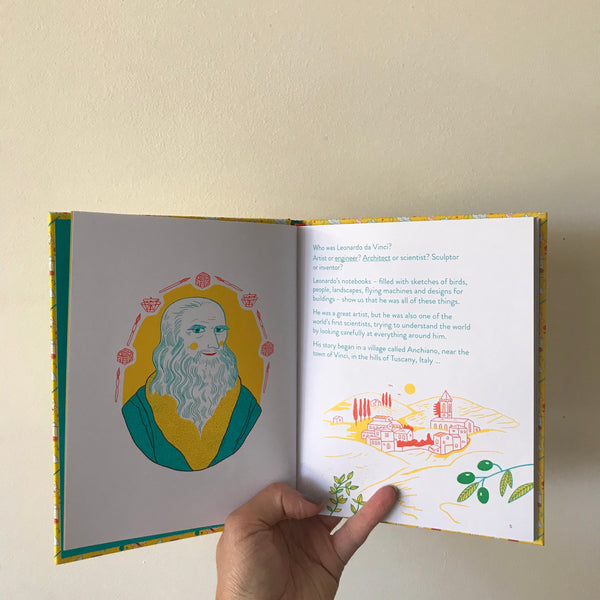 Little Guides to Great Lives: Leonardo Da Vinci