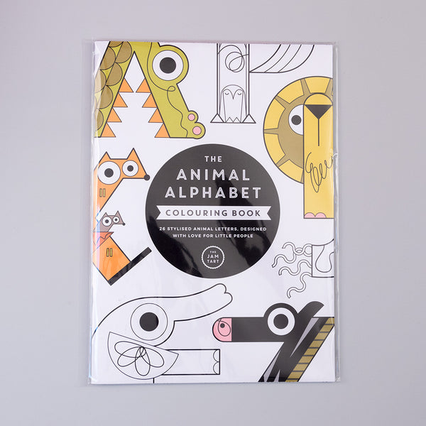 The Animal Alphabet Colouring Book
