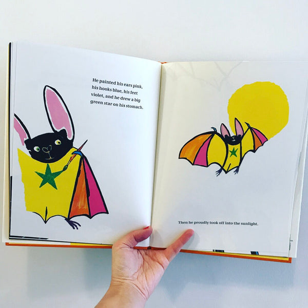 Rufus - The Bat Who Loved Colour