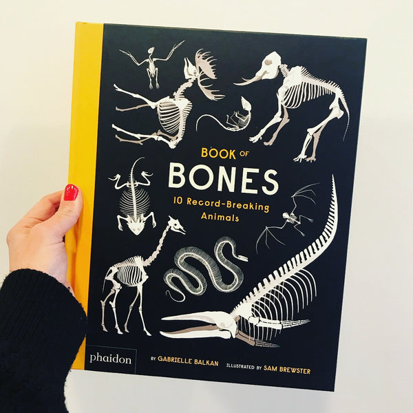 Book of Bones: 10 Record Breaking Animals