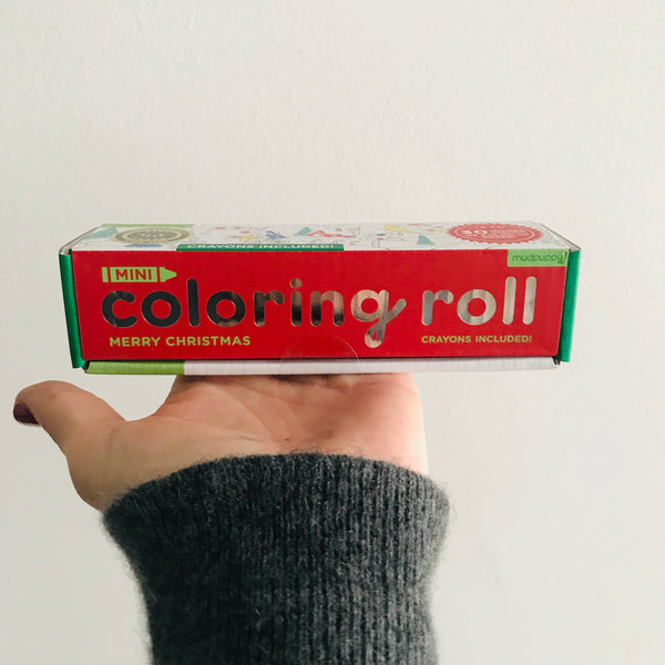 Mini Colouring Roll: Merry Christmas