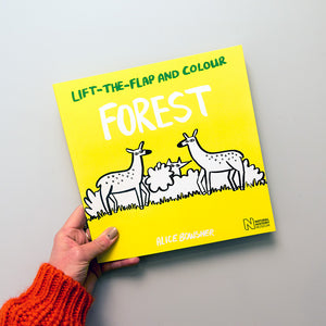 Lift-the-flap and Colour: Forest