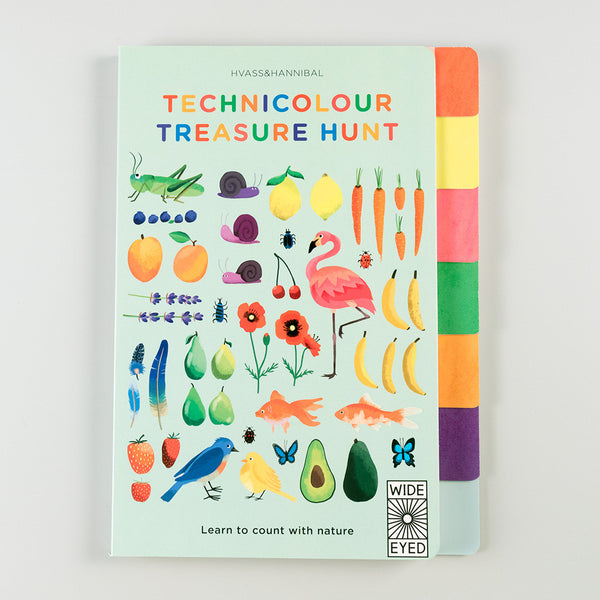 Technicolour Treasure Hunt: Learn to count with Nature