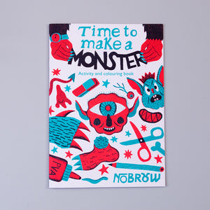 Time to make a Monster: Activity and colouring book