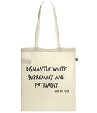 Confidence/Dismantle Double Sided Tote Bag