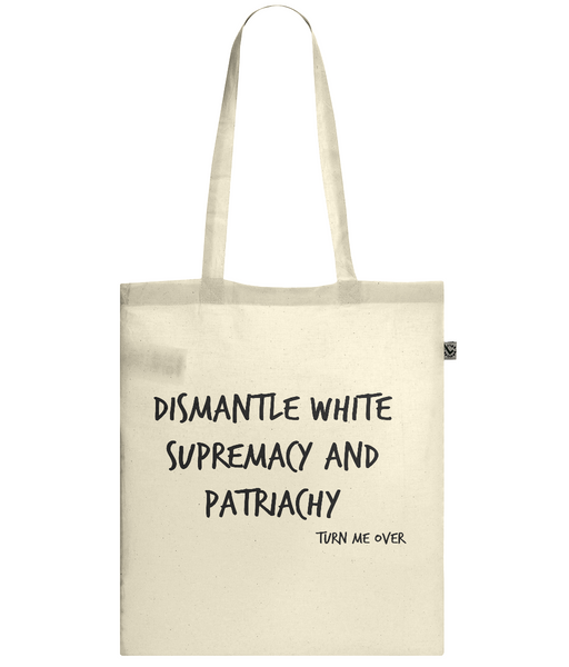 Confidence/Dismantle double sided - Tote Bag