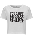 Nadina Did This  - Stole It Unisex Crop