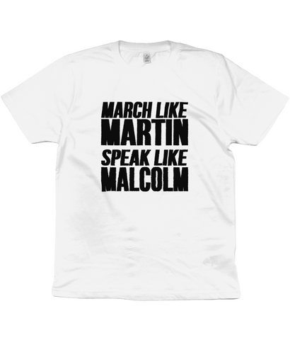Martin Luther King Jr and Malcolm X - Unisex