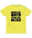Unisex Martin and Malcolm Tee