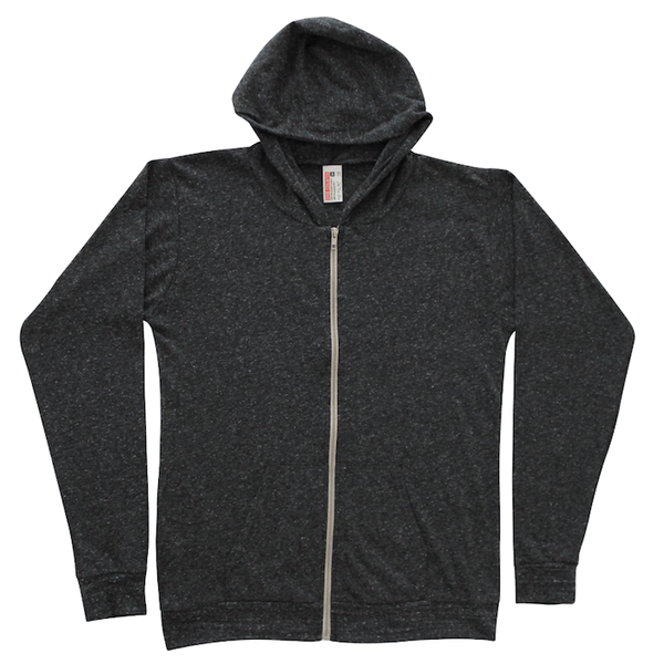 Unisex Lightweight Hoodie - Charcoal Gray