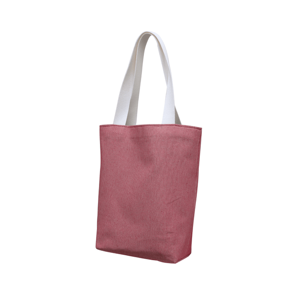 Reusable Market Tote - Recycled Ketchup Red