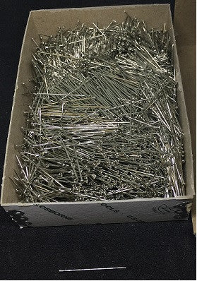 Straight pins box