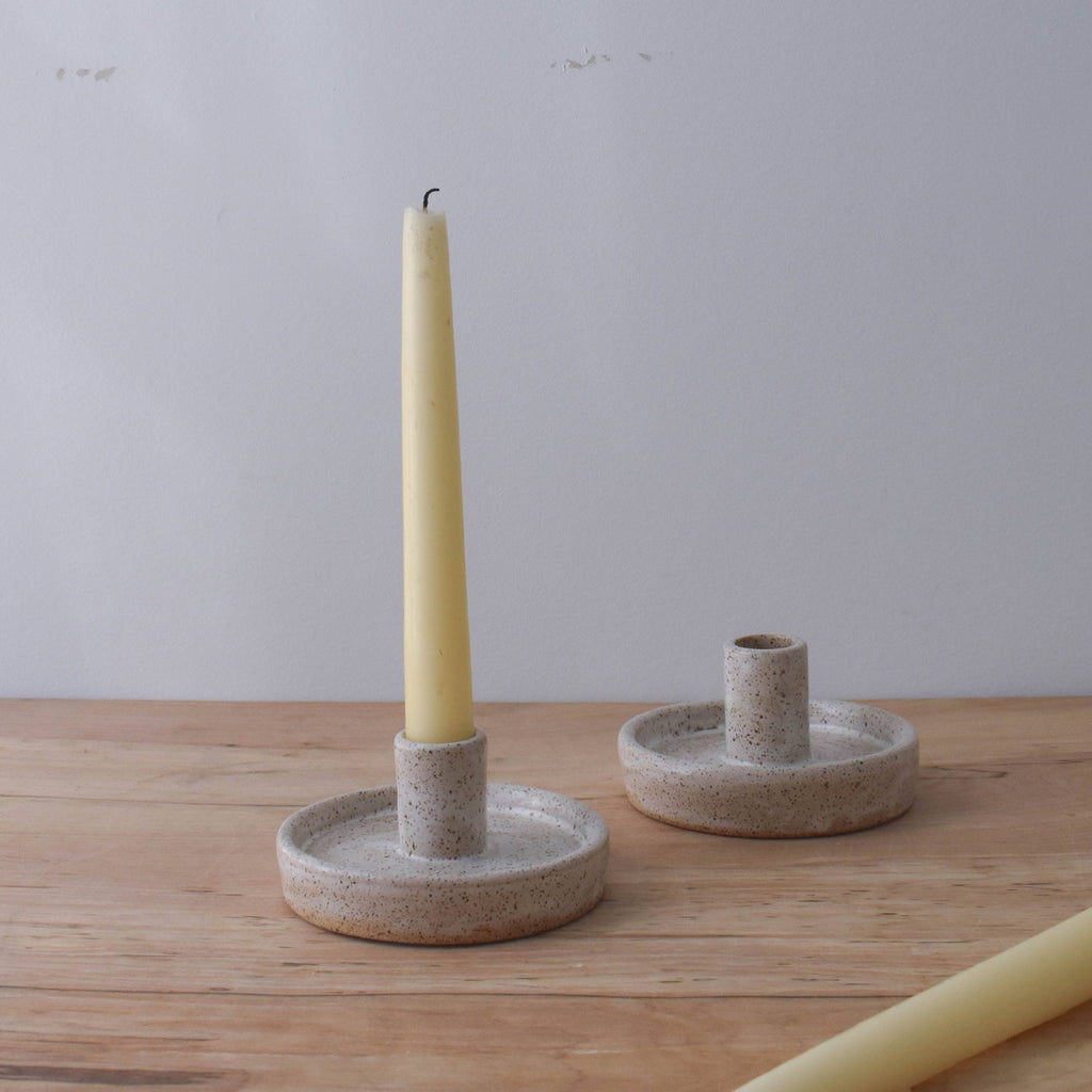 Ceramic Candle Holder - Apt. F x Wild Bower Studio