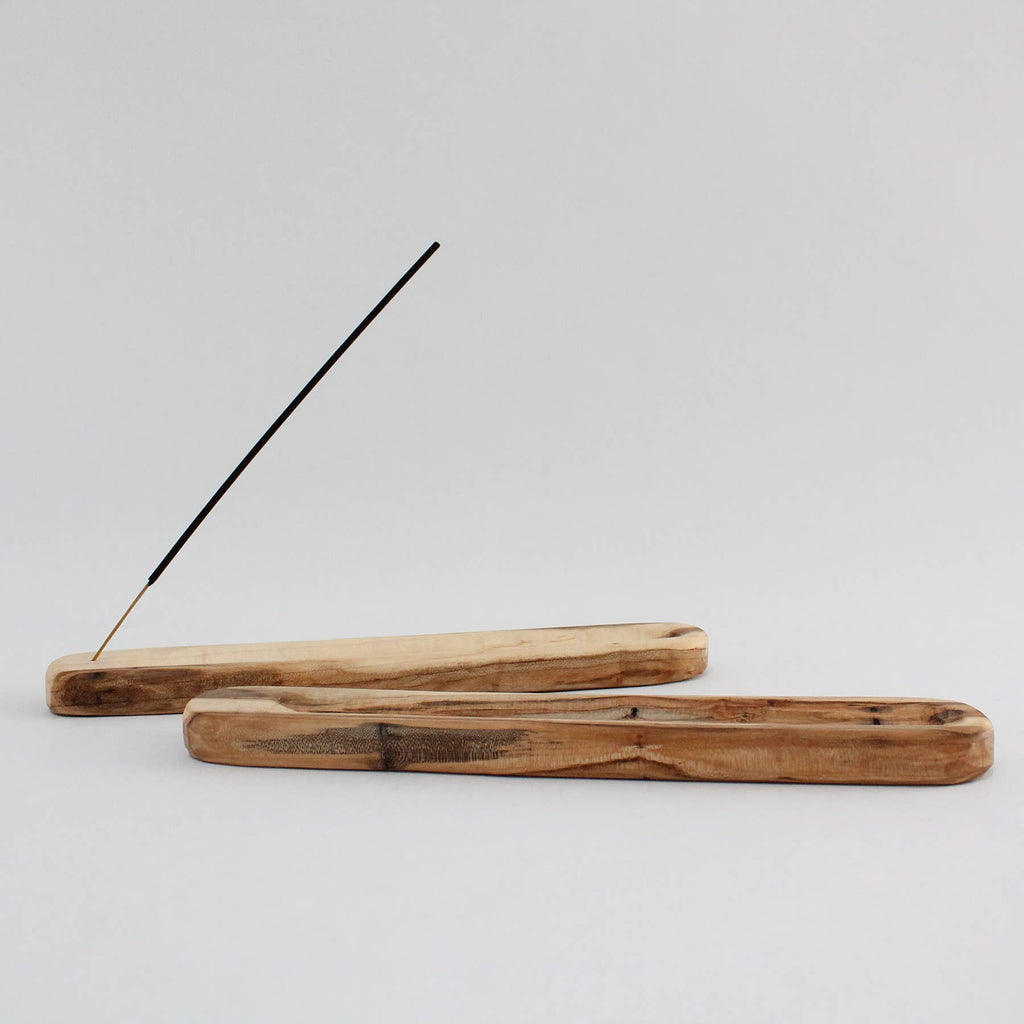 Wooden Incense Holder - Apt. F x Mingled Goods