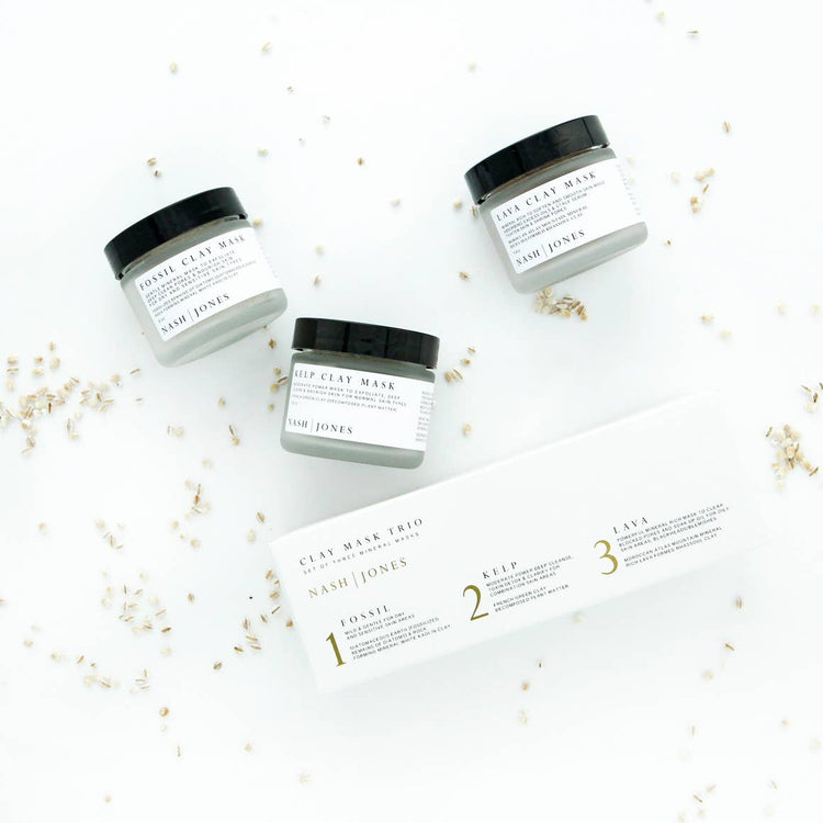 Clay Mask Trio Set - Apt. F x Nash and Jones