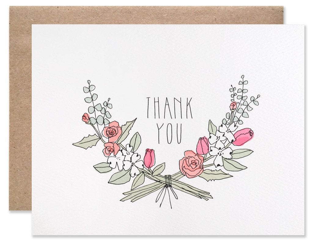 Thank You Florals Card - Apt. F x Hartland Brooklyn