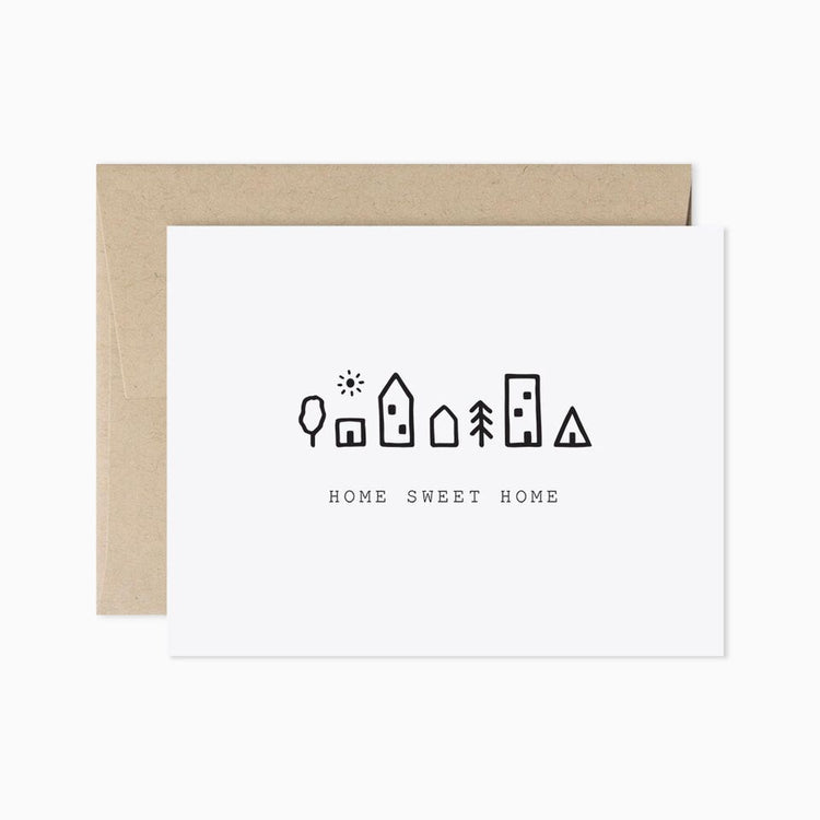 Home Sweet Home Card - APT F x Evermore Paper Co.