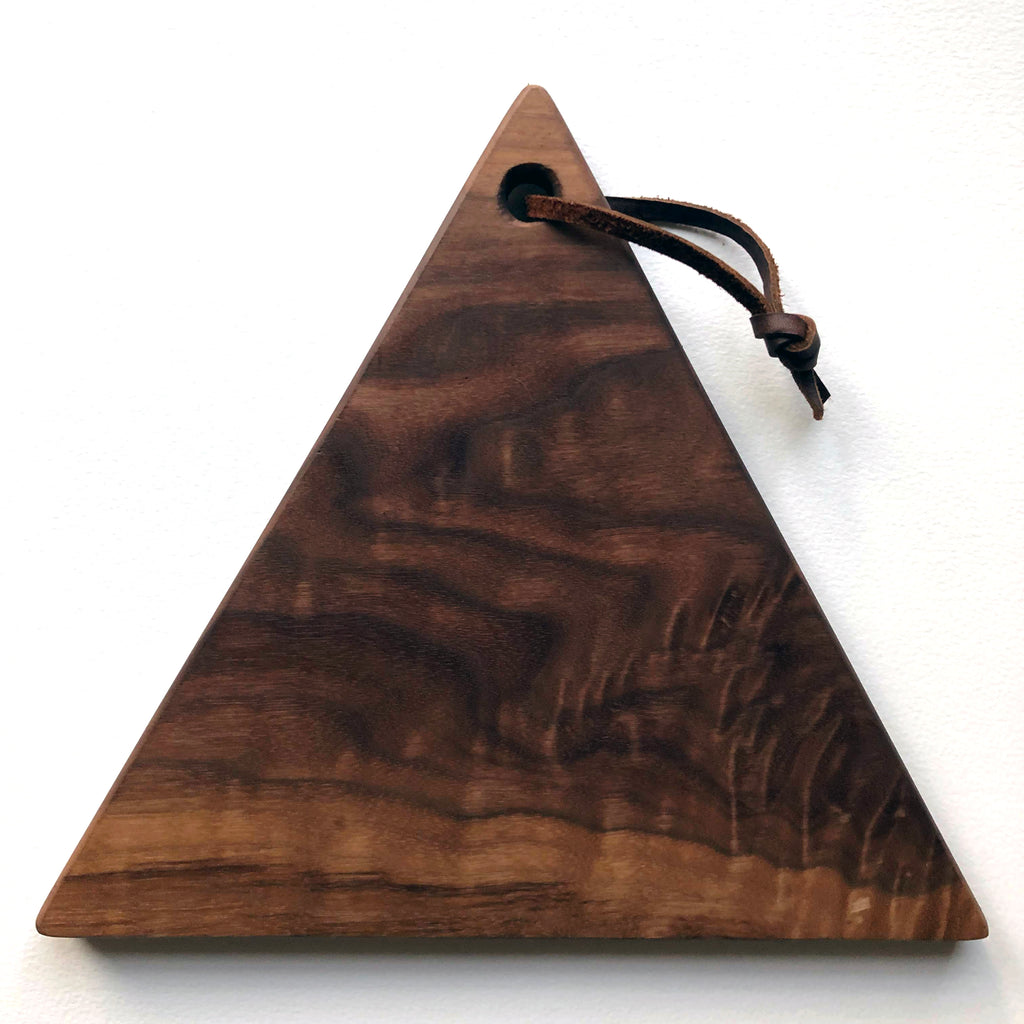 Walnut Triangle Board - Apt. F x The King Market