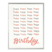 Happy Happy Birthday Greeting Card - APT F x INK MEETS PAPER