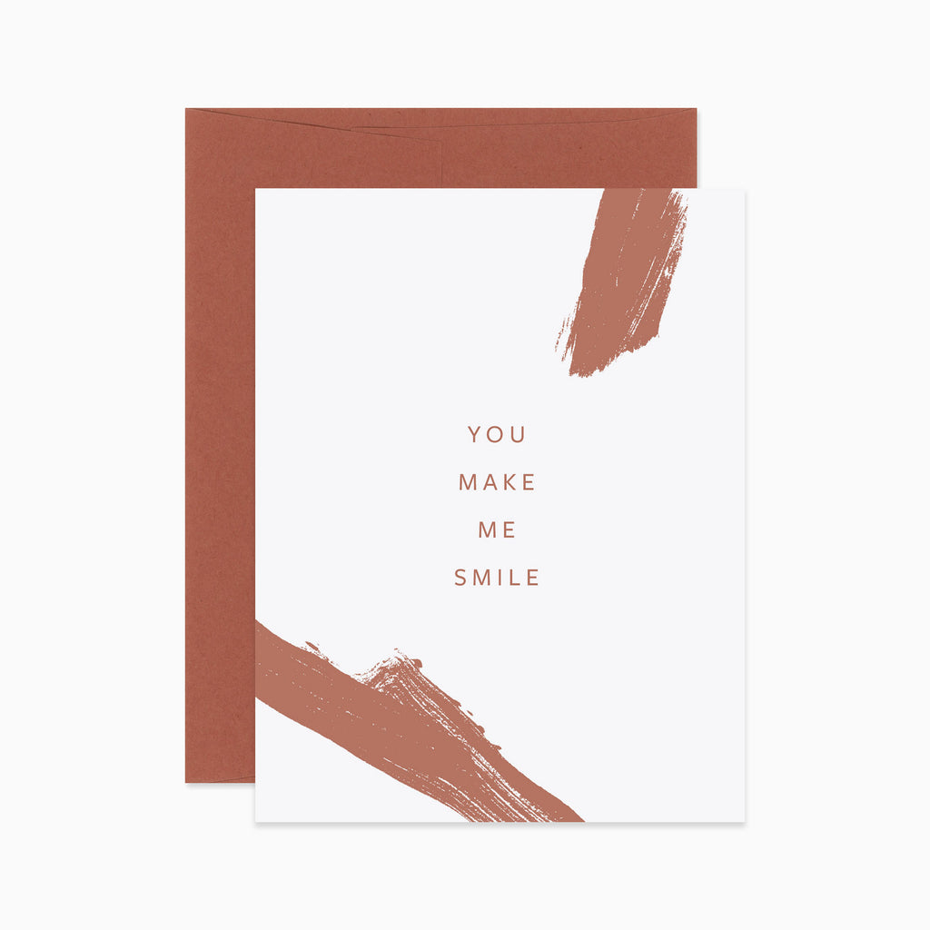 You Make Me Smile Card - Apt. F x Evermore Paper Co.