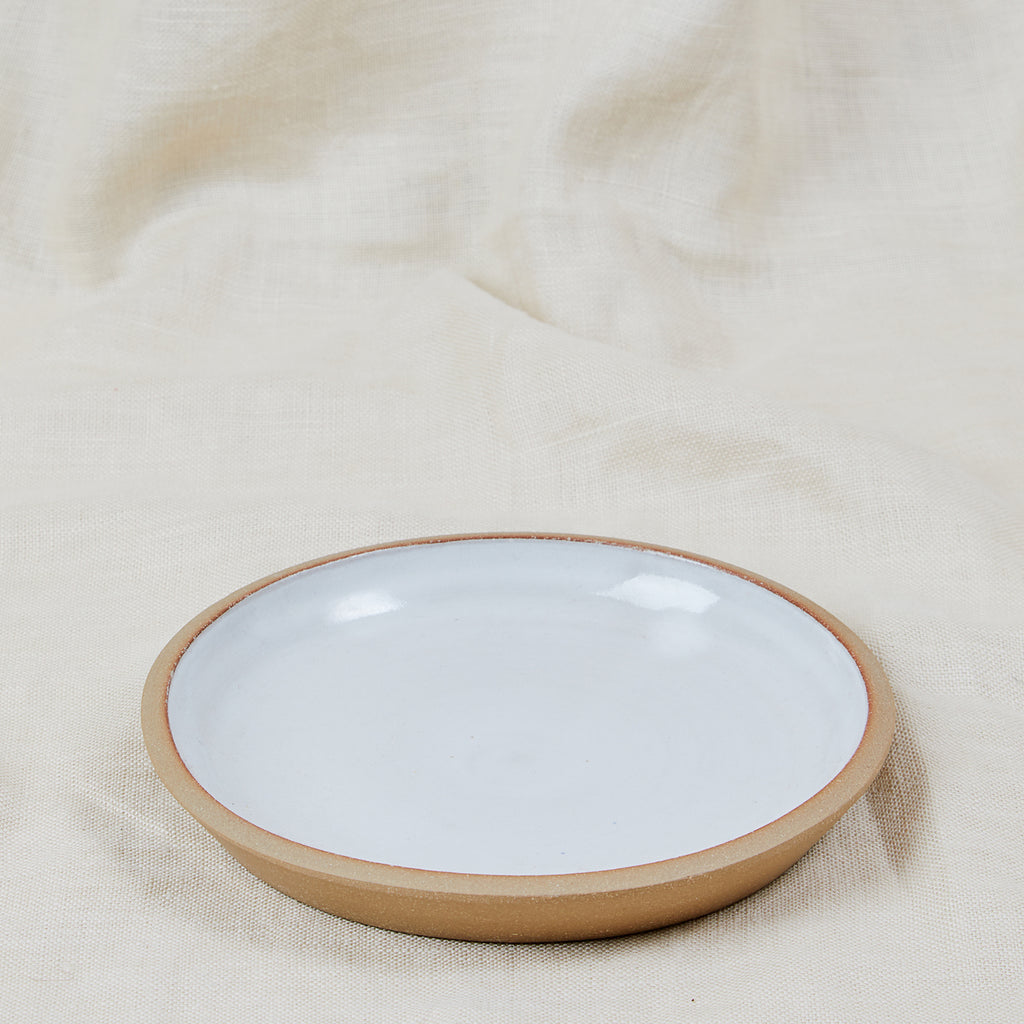 Fat Rim Ceramic Lunch Plate - APT F x Settle Ceramics