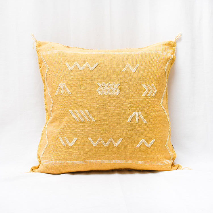 Merzouga Pillow - Lemon - Apt. F x APT F