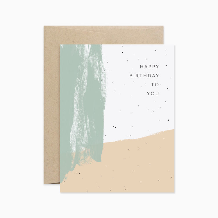 Happy Birthday Card - Apt. F x Evermore Paper Co.