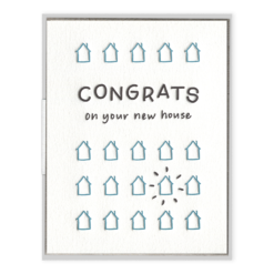 INK MEETS PAPER - New House Congrats - Greeting Card - APT F x INK MEETS PAPER
