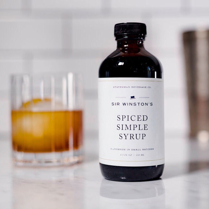 Sir Winston's Spiced Simple Syrup - Apt. F x Statesman Beverage Co
